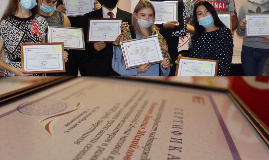 Завершен подготовительный этап проекта «Волонтеры здоровья» — победителя областного конкурса на консолидированный бюджет в номинации «Мы выбираем жизнь»